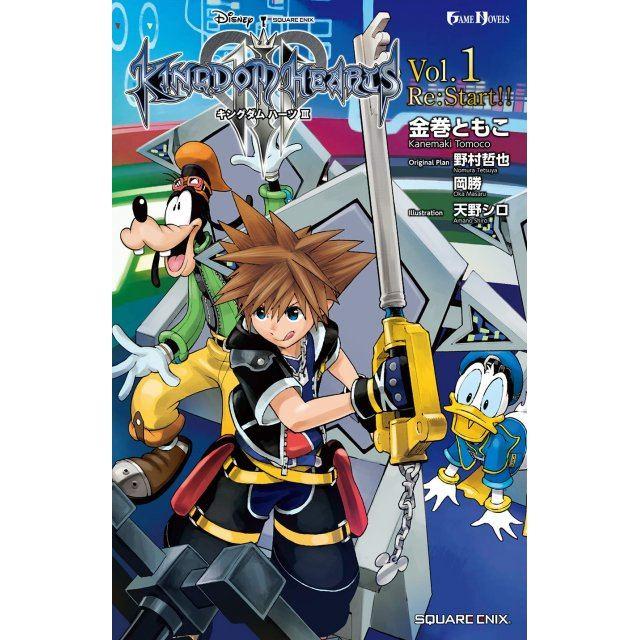 Kingdom Hearts III Vol.1 Re:Start!! (Game Novels