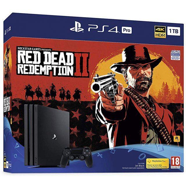 PlayStation 4 Pro Red Dead Redemption 2 Bundle (1TB Console)