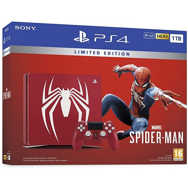 PlayStation 4 Slim Spider-Man Bundle Limited Edition (1TB Console)