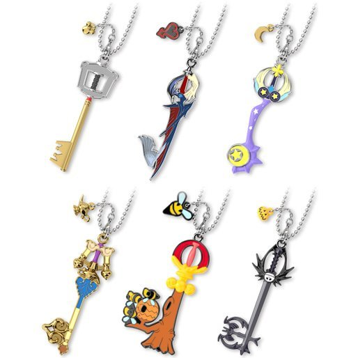 Kingdom Hearts Key Blade Collection Vol. 2 (Set of 6 Pieces)