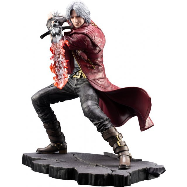 ARTFX J Devil May Cry 5 1/8 Scale Pre-Painted Figure: Dante