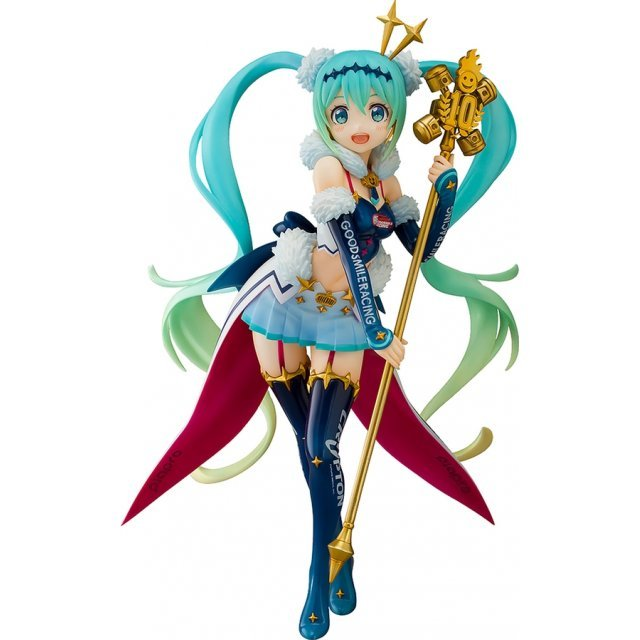 HATSUNE MIKU GT PROJECT 1/7 SCALE PRE-PAINTED FIGURE: RACING MIKU 2018 CHALLENGING TO THE TOP