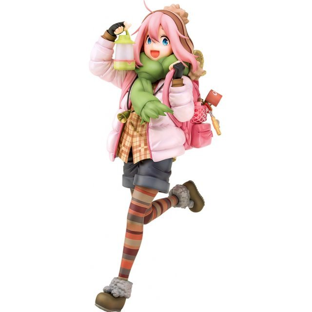 Laid-Back Camp 1/7 Scale Pre-Painted Figure: Nadeshiko Kagamihara