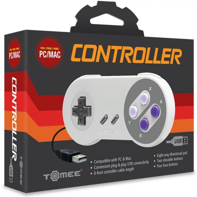 SNES Style-USB Controller for PC and Mac