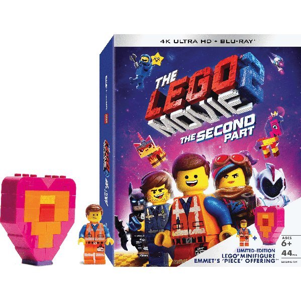 The Lego Movie 2: The Second Part (4K UHD+2D) (2-Disc) (Lego Mini-Figure)