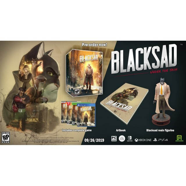 Blacksad: Under the Skin [Collector's Edition] (DVD-ROM)
