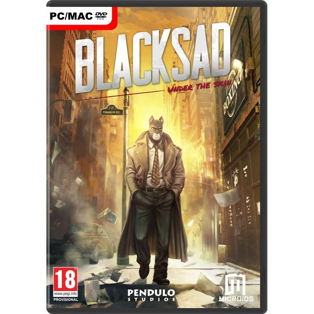 Blacksad: Under the Skin (DVD-ROM)