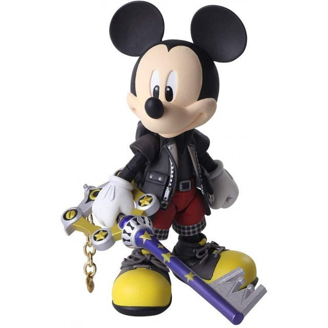 Kingdom Hearts III Bring Arts: King Mickey