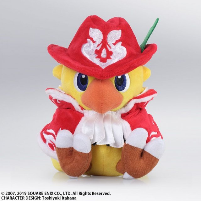 Chocobo's Mystery Dungeon Every Buddy! Plush: Chocobo Red Mage