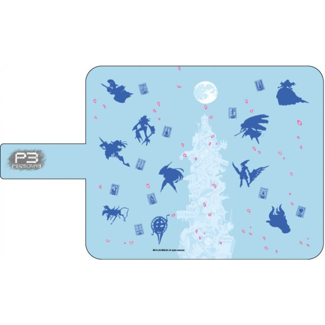 Persona 3 02 Persona Silhouette Light Blue Book Type Multi Case