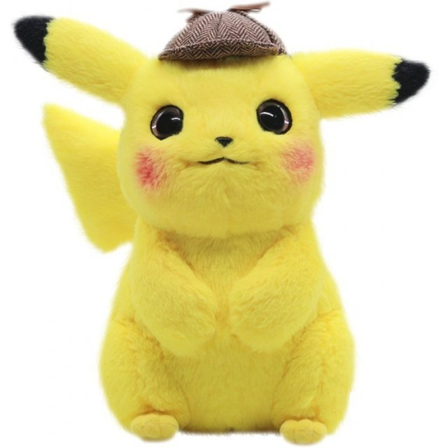 Pokemon Plush: Big Detective Pikachu Movie Ver.