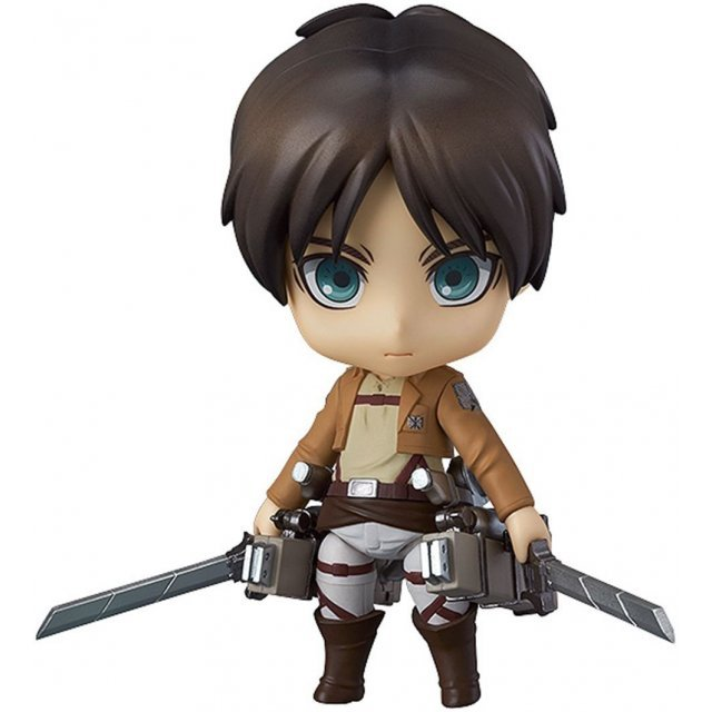 Nendoroid No. 375 Attack on Titan: Eren Yeager [Good Smile Company Online Shop Limited Ver.] (Re-run)
