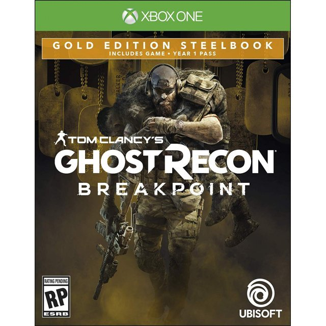 Tom Clancy's Ghost Recon: Breakpoint [Gold Edition Steelbook]