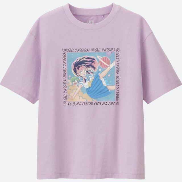 Urusei Yatsura Women's T-shirt Purple (XL Size