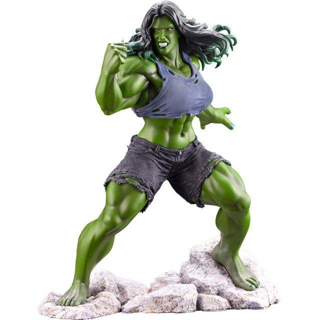 Artfx Premier Marvel Universe Avengers 1/10 Scale Pre-Painted Figure: She-Hulk