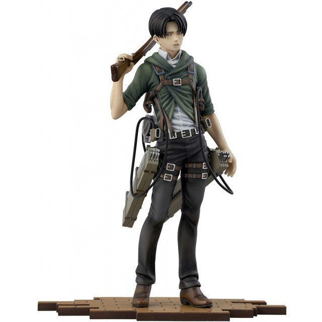 BRAVE-ACT ATTACK ON TITAN 1/8 SCALE PRE-PAINTED FIGURE: LEVI -VER. 2A-