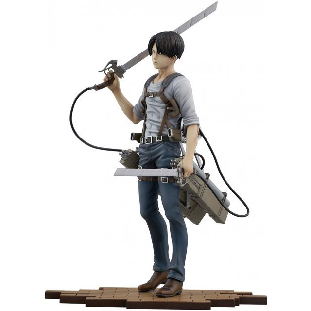 BRAVE-ACT ATTACK ON TITAN 1/8 SCALE PRE-PAINTED FIGURE: LEVI -VER. 2B-