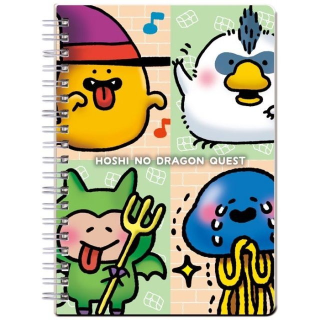 HOSHI NO DRAGON QUEST RING NOTEBOOK B6