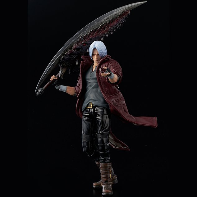 Devil May Cry 5 1/12 Scale Action Figure: Dante [Deluxe Edition]