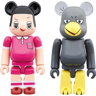 Be@rbrick Chico Will Scold You!: Chico-chan & Kyoe-chan 2 Pack