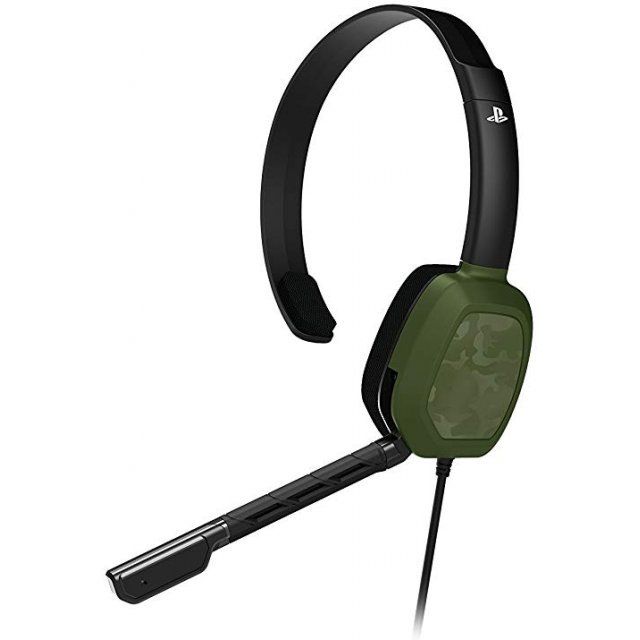 LVL 1 Chat Headset for PlayStation 4 (Green Camo)