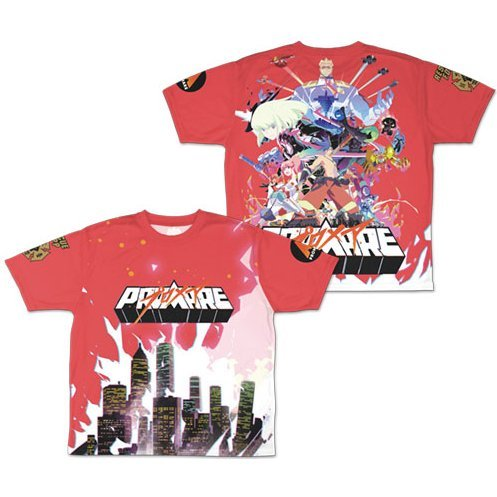 Promare Double-sided Full Graphic T-shirt (M Size)