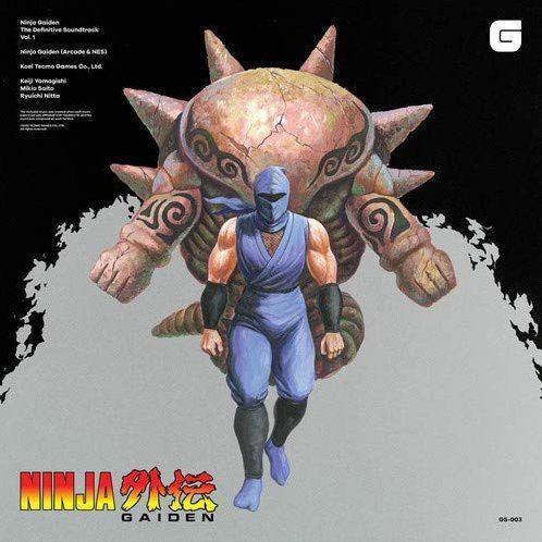 Video Game Soundtrack Ninja Gaiden The Definitive Soundtrack