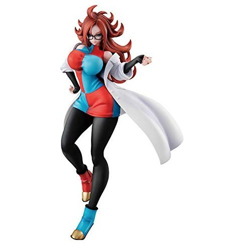 Dragon Ball Gals Dragon Ball FighterZ Pre-Painted PVC Figure: Android 21