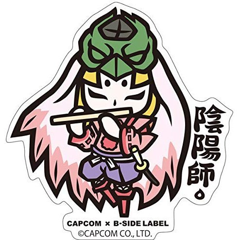 Capcom x B-Side Label Sticker Okami Ushiwaka Deformed