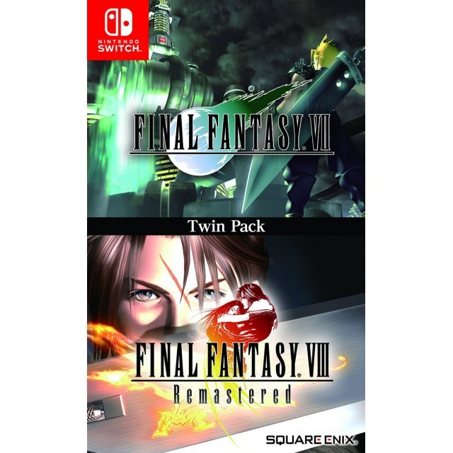 Final Fantasy VII & Final Fantasy VIII Remastered Twin Pack (Multi-Language) (English Cover)