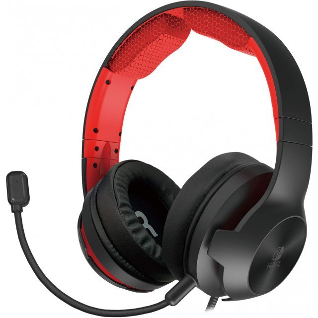 High Grade Gaming Headset for Nintendo Switch (Red)