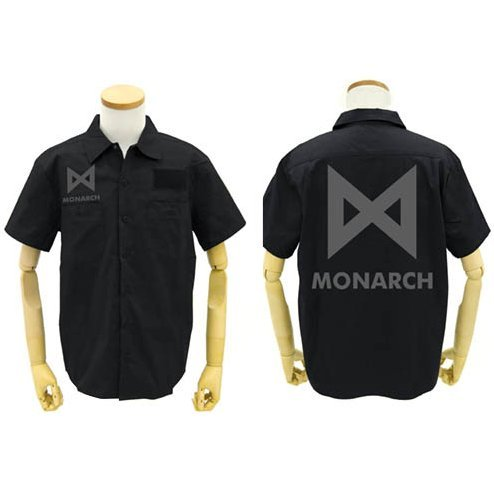 Godzilla: King Of The Monsters - Monarch Patch Base Work Shirt Black (M Size)