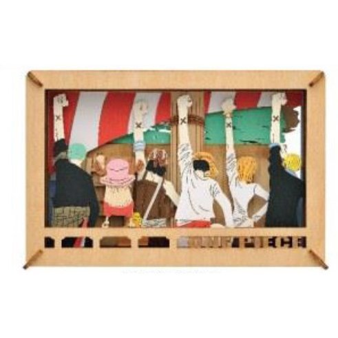 One Piece Paper Theater Wood Style - Mark Of The Friend PT-WL11