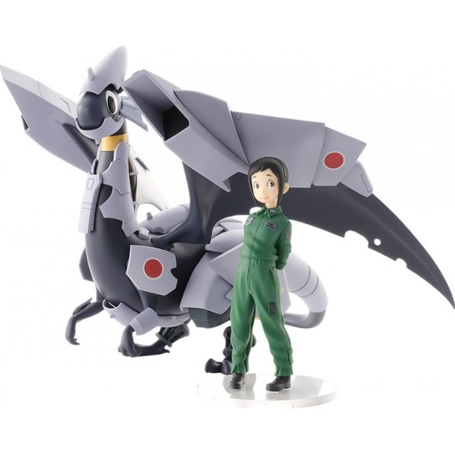 Dragon Pilot Hisone and Masotan PLAMAX MF-40 1/20 Scale Model Kit: Hisone and Masotan