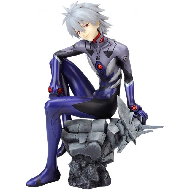 Rebuild of Evangelion 1/6 Scale Pre-Painted Figure: Kaworu Nagisa -Plug Suit Ver.-: Re