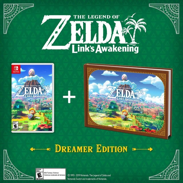 The Legend Of Zelda Link S Awakening Dreamer Edition
