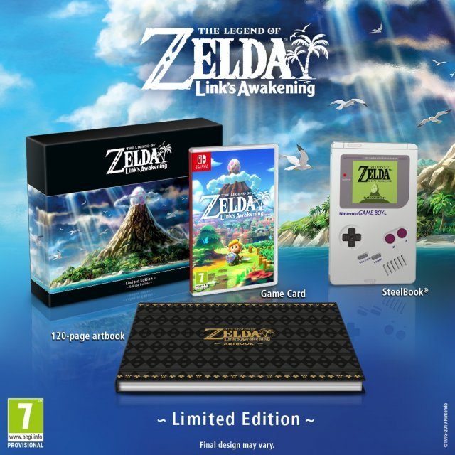 The Legend of Zelda: Link's Awakening [Limited Edition]