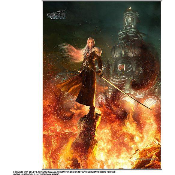 Final Fantasy VII Remake Wall Scroll Vol.2