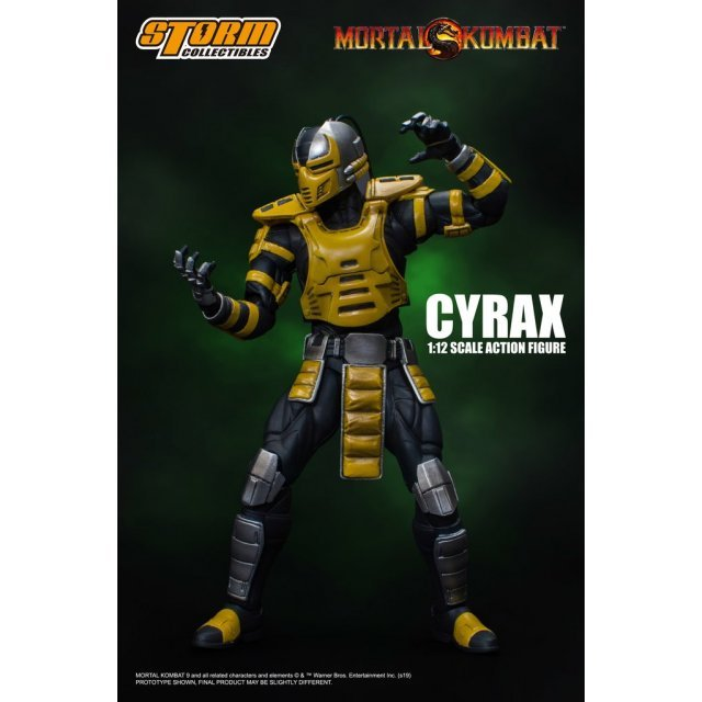 Mortal Kombat 1/12 Scale Pre-Painted Action Figure: Cyrax