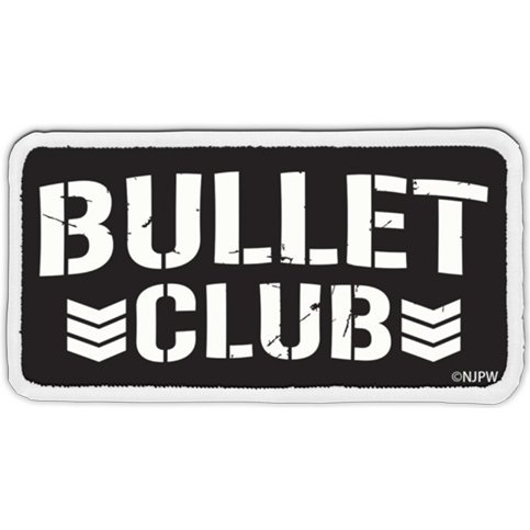 New Japan Pro-Wrestling - Bullet Club Removable Full Color Patch