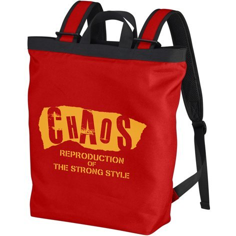 New Japan Pro-Wrestling - Chaos 2way Backpack Red