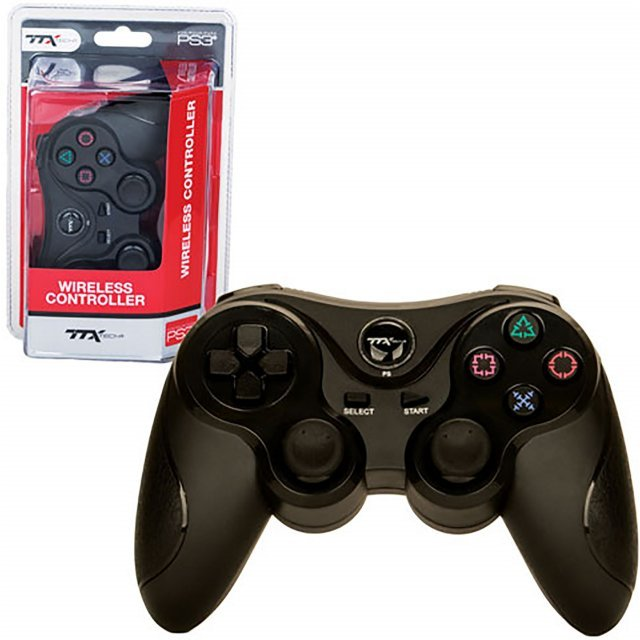 TTX Tech Wireless Controller for PlayStation 3 (Black)