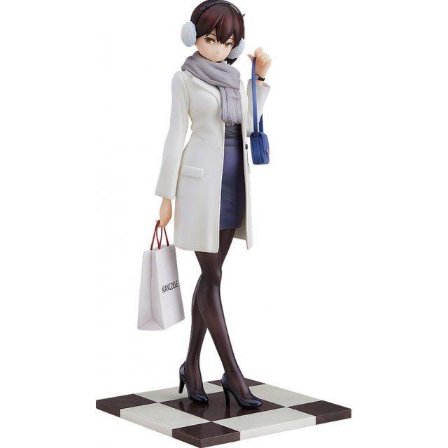 Kantai Collection -KanColle- 1/8 Scale Pre-Painted Figure: Kaga Shopping Mode