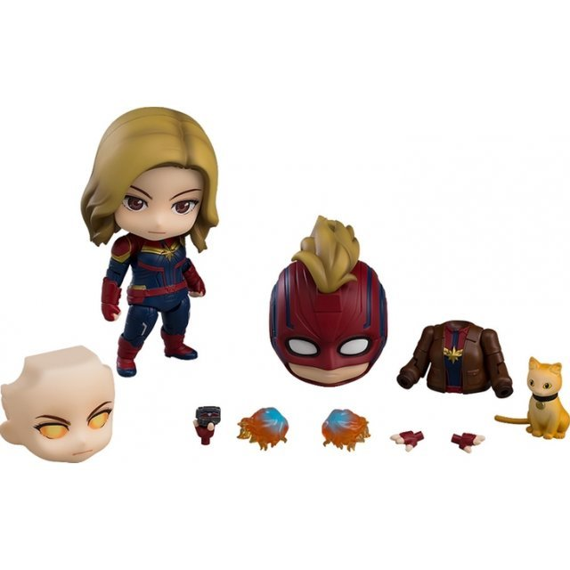 Nendoroid No. 1154-DX Captain Marvel: Captain Marvel Hero's Edition DX Ver.