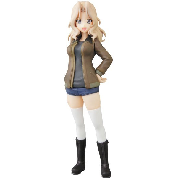 Ultra Detail Figure No. 508 Girls und Panzer das Finale Series 2 1/16 Scale Pre-Painted Figure: Kei