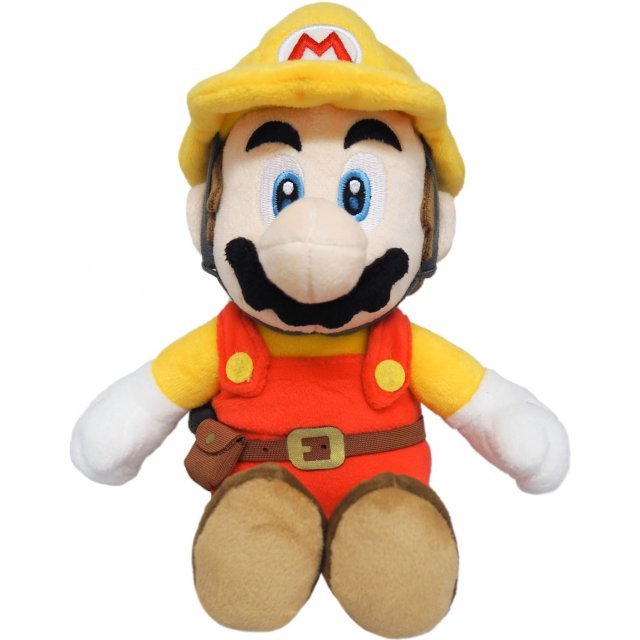Super Mario Maker 2 Plush: Builder Mario (S)