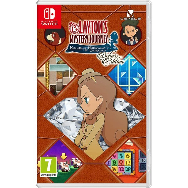 Layton's Mystery Journey: Katrielle and The Millionaires' Conspiracy [Deluxe Edition]