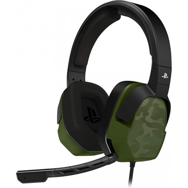 LVL 3 Wired Stereo Headset for PlayStation 4 (Green Camo)