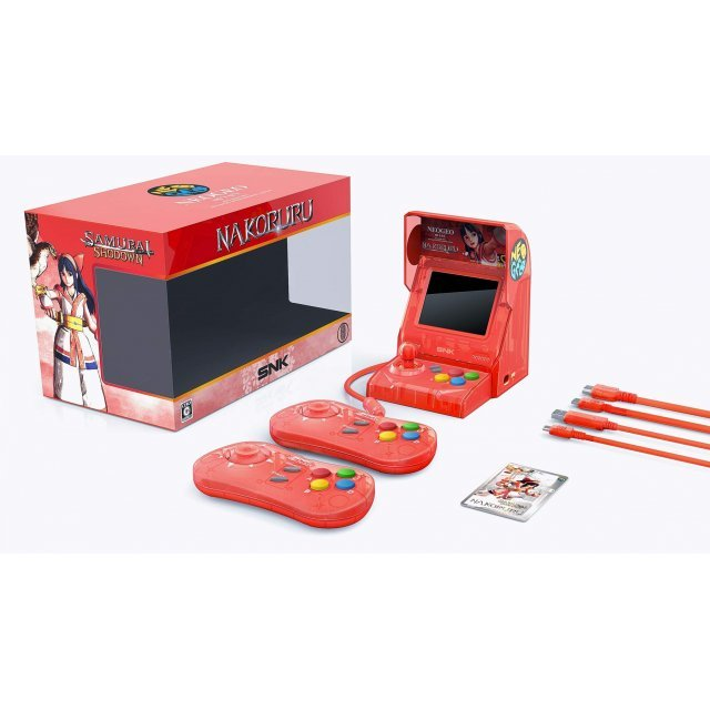 NEOGEO Mini Samurai Spirits Nakoruru Set [Limited Edition]