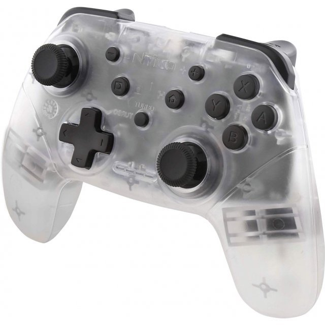 Wireless Core Controller for Nintendo Switch (Clear)